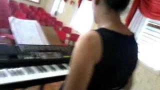 Ensaio M.L Somos Teus Filhos musica: Toda terra
