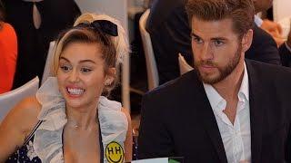 Miley Cyrus & Liam Hemsworth Cute PDA - EXCLUSIVE