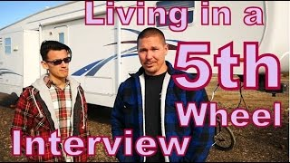 Interview with  Mike & Daniel Doing RV and Equipment Transport From a 5th Wheel