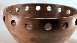 Trapped Wire Segmented Bowl