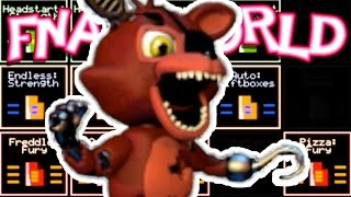 Red Chests, More Characters! [Ep. 11] | FNAF World : HARD MODE