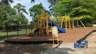 New playground goes up in six hours for military kids