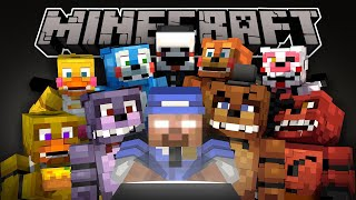 If Herobrine Played Five Nights At Freddy's 2 - Minecraft