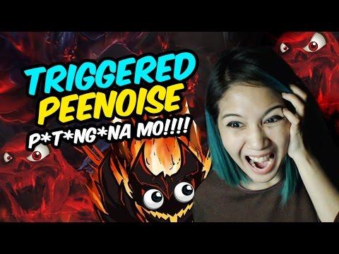 TRIGGERED PEENOISE!!! - Ann Mateo / Dota 2 / Fan Sign / Video Greetings / Shadow Fiend