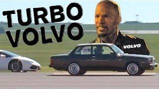 TURBO Volvo SPANKS Lambo, Vette, and MORE!