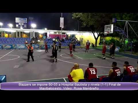 Xxx Mp4 Blazzers Empata La Final Del Torneo De Maxibaloncesto Con Hospital Bautista 2017 3gp Sex