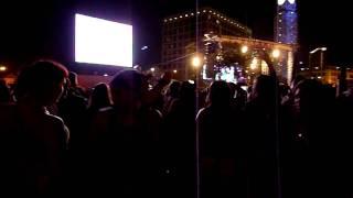 Dancing to Black Eyed Peas @ Street Scene 2009
