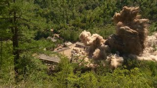 North Korea claims to demolish nuclear test site