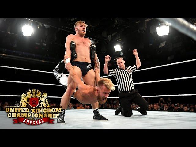 Tyler Bate vs. Mark Andrews - WWE U.K. Championship Match: WWE U.K. Championship Special, May 19,..