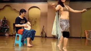 Drum Solo(Improvisation) with Dolphin Sheon 2011 in China