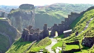 Tintagel Castle in Cornwall - The Land of King Arthur