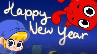 Happy New Year Cartoon For Kids - With Morphle