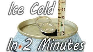 How to Cool a Drink in 2 Minutes