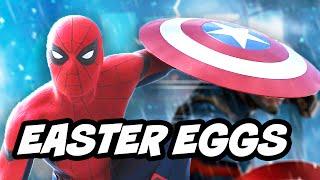 Captain America Civil War TOP 50 Easter Eggs