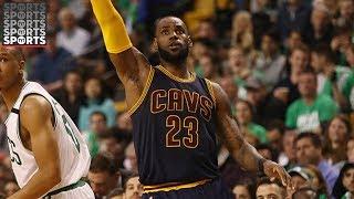 LeBron Passes Jordan in Playoffs Scoring [Warriors Heavy Favorite Over Cavs]