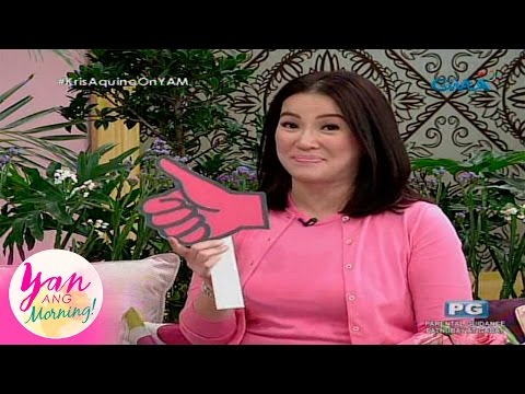 Yan Ang Morning Kris Aquino s opinion on hot topics