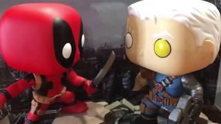 Funko POP! Deadpool vs Cable Comic Moments Figure Unboxing