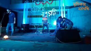 Bengali Funny Video || বরিশাইল্লা VS পুরান ঢাকা - আসলাম ভাই ।| Khulna University Reception Drama