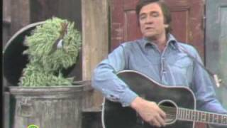 Sesame Street: Johnny Cash Sings Nasty Dan