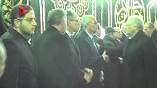 حضور كبير من الفنانين والإعلاميين في عزاء ممدوح عبدالعليم