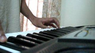 New York Nagaram song (from tamil movie Sillenoru kathal) piano tutorial by Rj