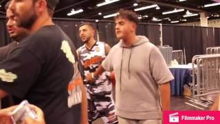 "SneakerDrew at ""Sneaker Con"" plus the BRAWADIS fight!!!"