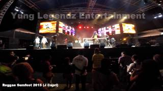 J CAPRI PERFORMING LIVE AT REGGAE SUMFEST 2015