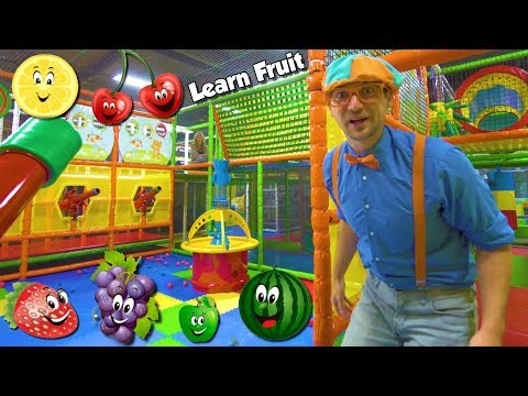 Xxx Mp4 Learn Fruits With Blippi Educational Indoor Playground Videos For Kids 3gp Sex