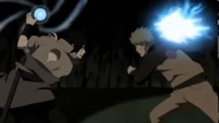 Sasuke's Chidori VS Naruto's Rasengan - Naruto Shippuden Ep:215