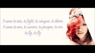 Nicki Minaj - Fly (feat. Rihanna) Lyrics Video