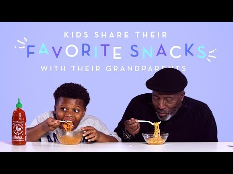 Kids Share Their Favorite Snacks with Their Grandparents Kids Try HiHo Kids