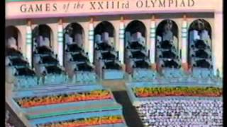Los Angeles 1984 Olympic Opening Ceremony Rhapsody In Blue