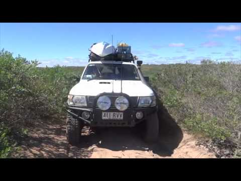 4wd Big Lap Of Australia in GU Nissan Patrol