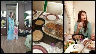 لجين عمران تحضر اخر مائدة فطور في رمضان لاهلها وتعلق على اختها اسيل