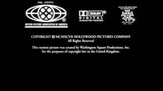 Roger Birnbaum Production Hollywood Pictures 1997