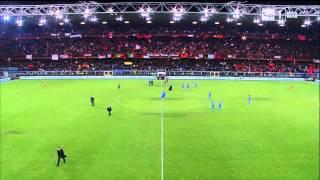 Itali 1 0 shqiperi ndeshje e plote