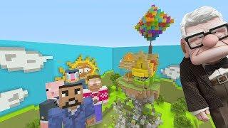 Minecraft XBOX - Hide and Seek - Disney's UP