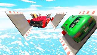 Can You Make The WALLRIDE JUMPS? (GTA 5 Funny Moments)