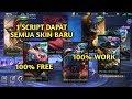 Download Video Download 1 SCRIPT DAPAT SEMUA SKIN YANG AKAN DATANG!!! 3GP MP4 FLV