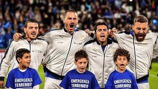 The Passion Of The Italian National Anthem (italiaspagna 06/10/2016)