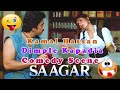 Kamal Hassan and Dimple Kapadia Comedy Scene | Saagar Movie