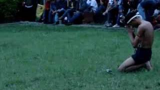muay boran sword fight