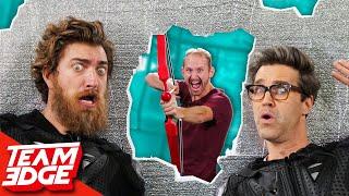Shoot Rhett and Link Behind the Wall!!