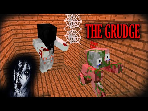 THE GRUDGE | MONSTER SCHOOL | MINECRAFT ANIMATIONS