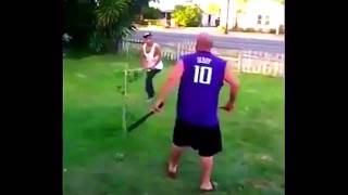 Bully Gets Beat Down With A Baseball Bat