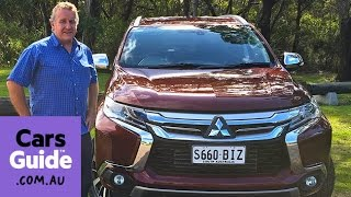 2016 Mitsubishi Pajero Sport GLS review | road test video