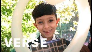 The Internet Surprises Child Refugee with Best Eid Ever. Starring اسماعيل تمر