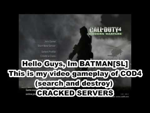 Call Of Duty MW Gameplay (Cracked Server) Search and Destroy/ Batman[SL]