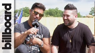 Dan  Shay On Playing New Single Road Trippin Live  Faster Horses 2017