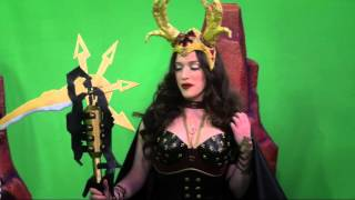 kat dennings in sexy costume
